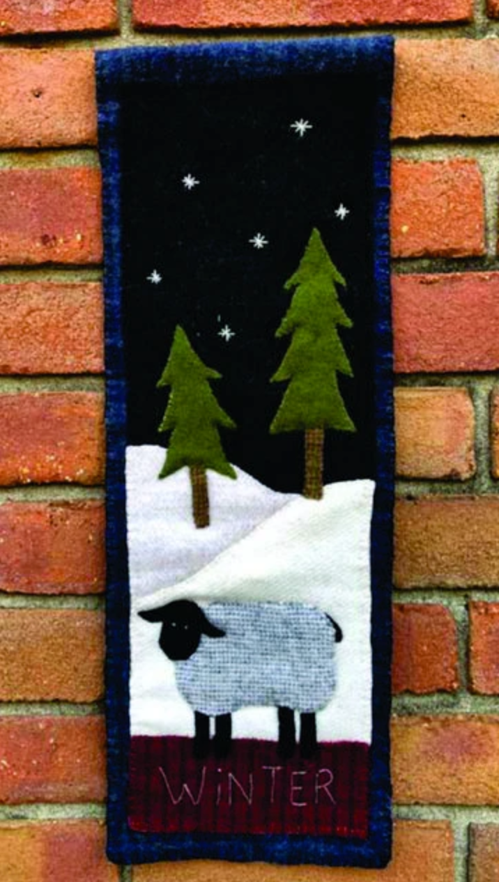 Tall Winter Banner