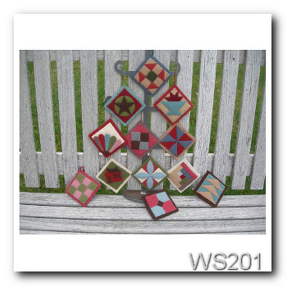 WS201-Quilt Ornaments