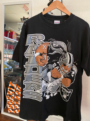 Vintage Raiders tee sz XL