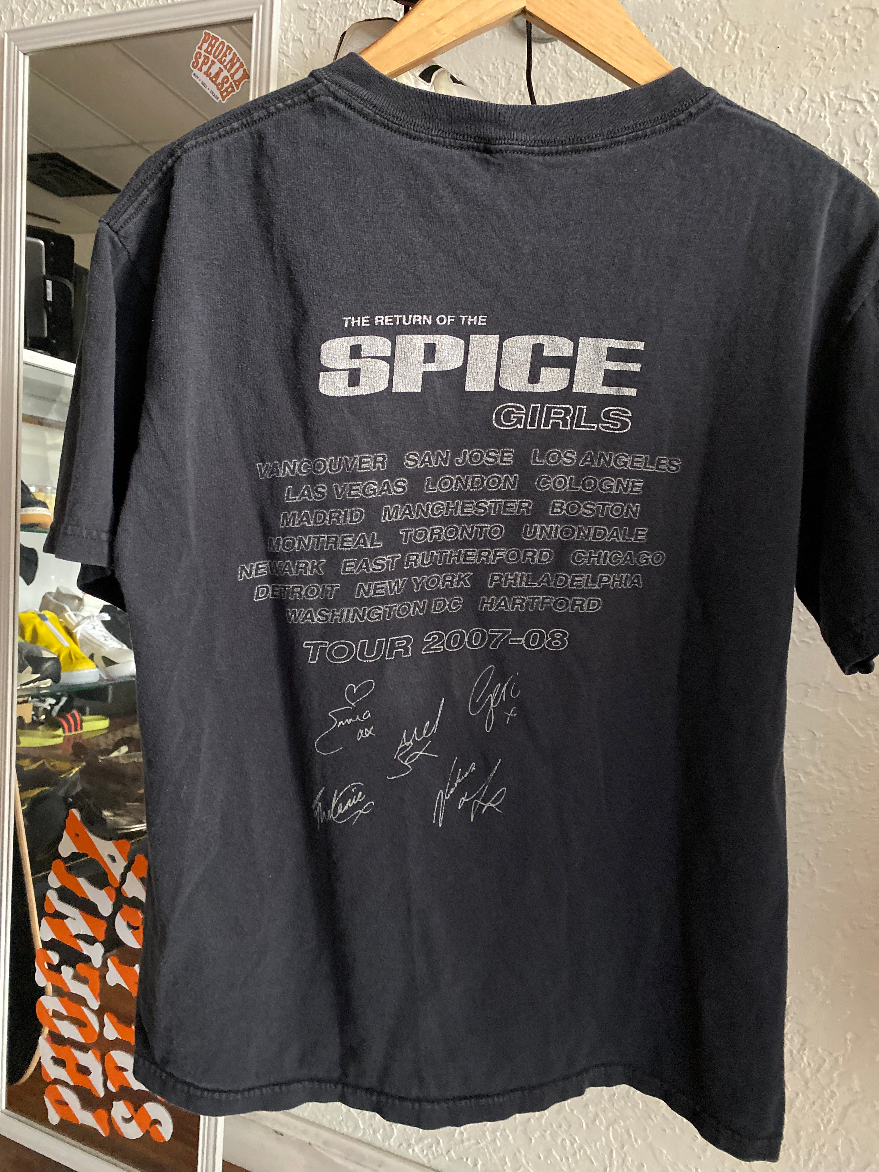 Spice Girls Tour Tee 2007 sz M