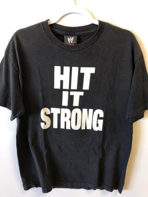The Rock Hit It Strong Tee sz L