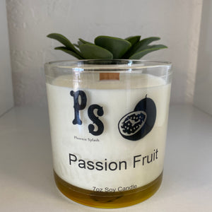 Passion Fruit Soy Wax Candle