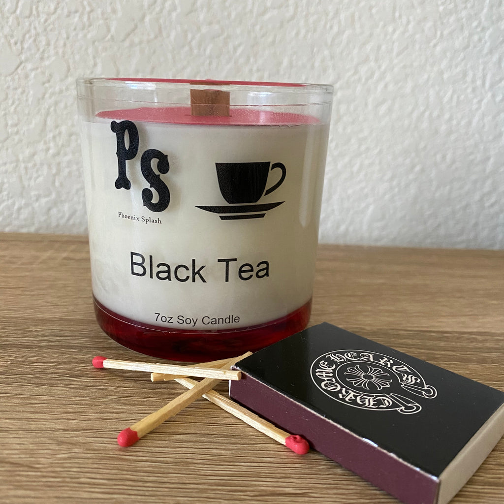 Black Tea Soy Wax Candle