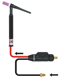 Ck Worldwide TIG torch diagram