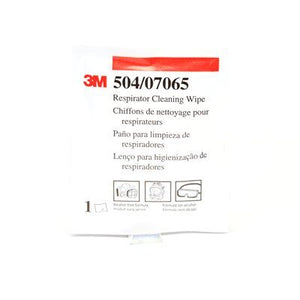 3M Respirator Cleaning Wipe 504