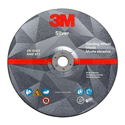 3M™ Silver Grinding Wheels 10/Pack
