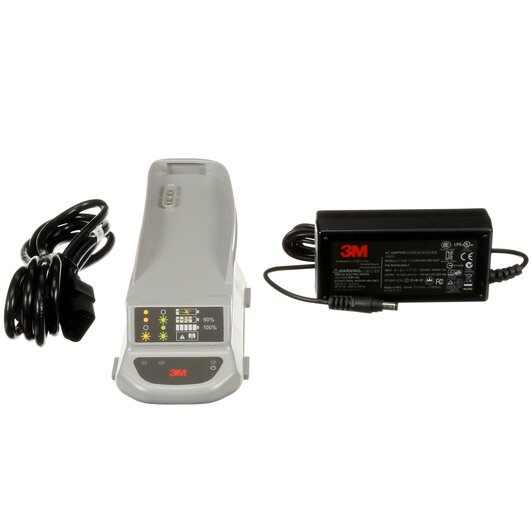 3M Versaflo Single Station Battery Charger Kit, TR-641N