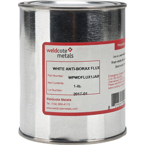 Weldcote White Anti Borax Flux
