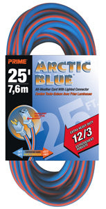 Arctic Blue 12/3 Extension Cords