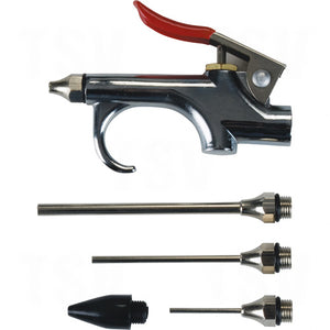 aurora tools, five piece blown gun kit