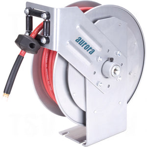 aurora tools, compresed air hose reel