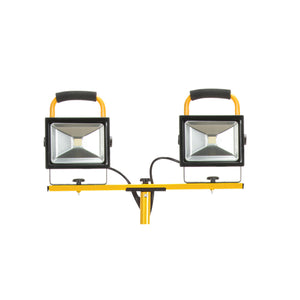 Twin Head Portable LED Work Light