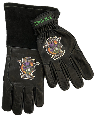 Blue Demon Zombie Mis-Matched Welding Gloves