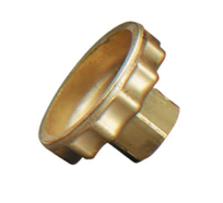 "CGA-580 Hand Tight Nut - .960""-14 NGO, RH Male"