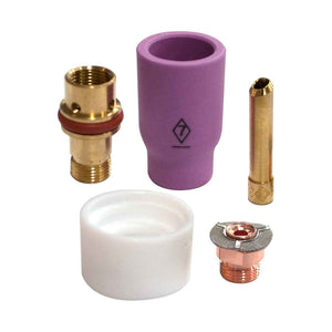CK Worldwide 3 Series Short Gas Saver Kit - Alumina Cup