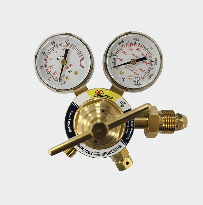 canaweld, argon/c02 regulator