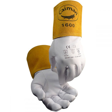 Caiman 1600 - Goat Grain TIG Welding Gloves