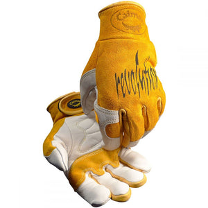 Caiman 1828 Low Cuff Cow Grain TIG Gloves