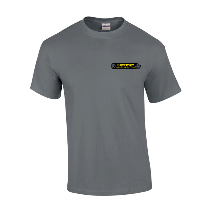 canada welding supply grey t-shirt front