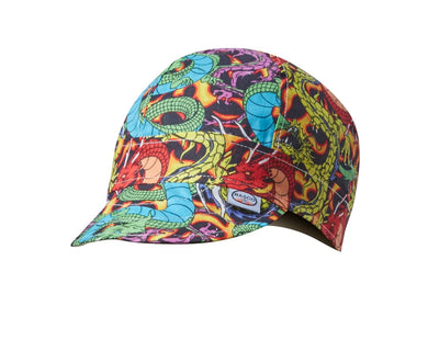 rasco, welding cap, dragons