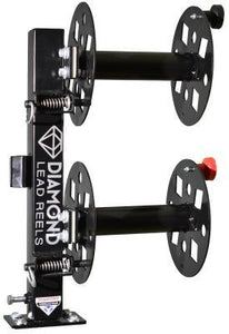 Diamond Welding Lead Reel - 10 Inch Swivel Base Double SBD10BLK