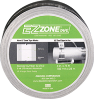 EZ Zone Aluminum Welding Tape For Root Gaps
