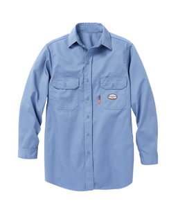 Rasco FR Uniform Shirt - Work Blue