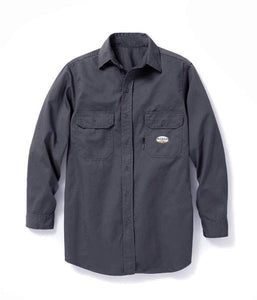 Rasco FR Uniform Work Shirt FR1303GY