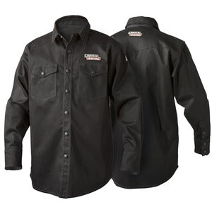 Red line Lincoln Electric FR Welding Shirt K3113