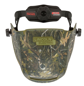 Lincoln Electric Viking 2450 White Tail Camo Welding Helmet Top