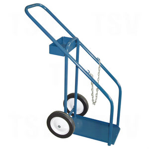 Kleton, horizontal, gas cylinder cart