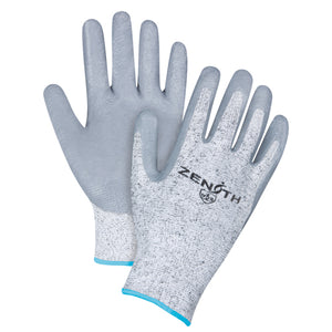 X Large Size 10 - Cut Resistant Level 2 - HPPE Nitrile-Coated Gloves