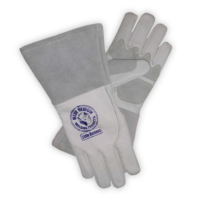 Blue Demon 'Little Demon' Kids MIG/Stick welding gloves