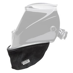 HELMET BIB - SPLIT LEATHER WITH PRESS FIT SEAL