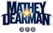 Mathey Dearman Pipe Spacing Wedges