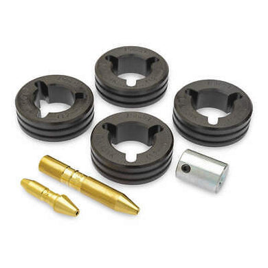 Miller Four Roll Knurled V-Groove Drive Kits - Flux Cored Wire
