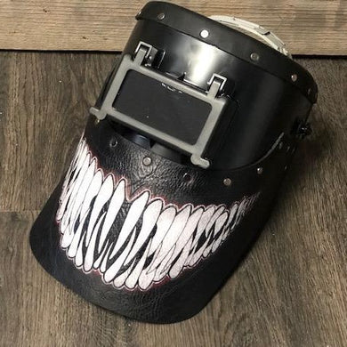 Outlaw Leather Venom Mouth Welding Hood