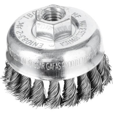 Pferd Carbon Steel Twist Knot Cup Brush