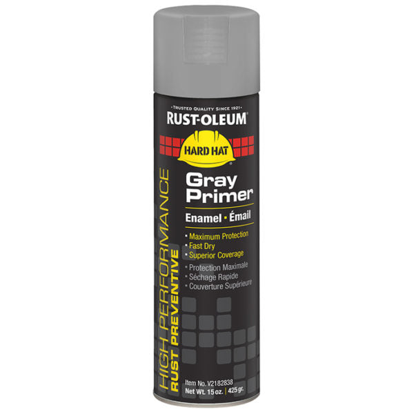 Rust-Oleum V2182838 Gray Hard Hat Primer
