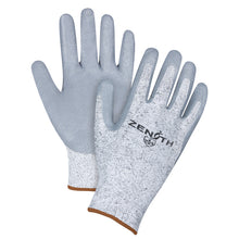 Large size 9 - Cut Resistant Level 2 - HPPE Nitrile-Coated Gloves