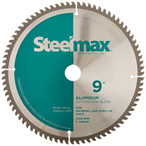 Steelmax Aluminum Metal Cutting Blade