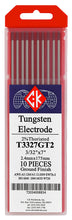 ck worldwide 2% thoriated tungsten red