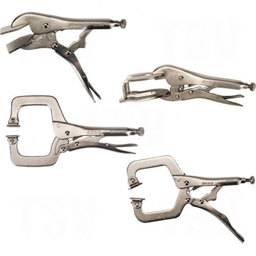 aurora tools, 4 piece welding clamp set