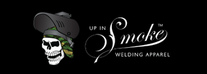 Up in Smoke Welding Apparel Logo