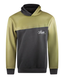 Up In Smoke THORAX FR Fleece Welding Hoodie - Black/ Army Green