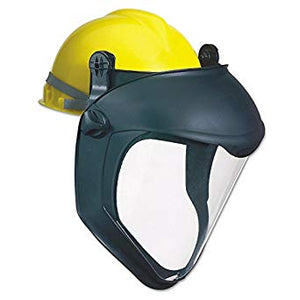 uvex 8505 bionic face shield hard hat