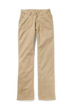 rasco fr, women's khaki work pant