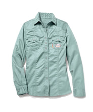 rasco fr, womens's sage green shirt