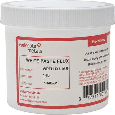 Weldcote White Paste Flux