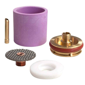 2 Series Large Diameter Gas Saver Kit - Alumina Cup
